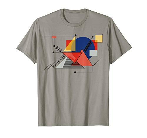 Bauhaus Movement Reproduction T Shirt, 1919 Artwork Artist Kids Dark T-shirt