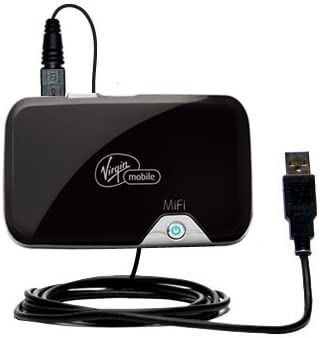 Uses Gomadic TipExchange Technology Classic Straight USB Cable suitable for the Novatel Mifi 2352 with Power Hot Sync and Charge Capabilities