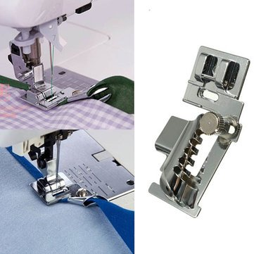 Household Sewing Machine Bias Tape Binder Metal Presser Foot Accessories For Brother Singer Janome Sewing machine feet Sewing kit Sewing machine accessories by Randall Elliott