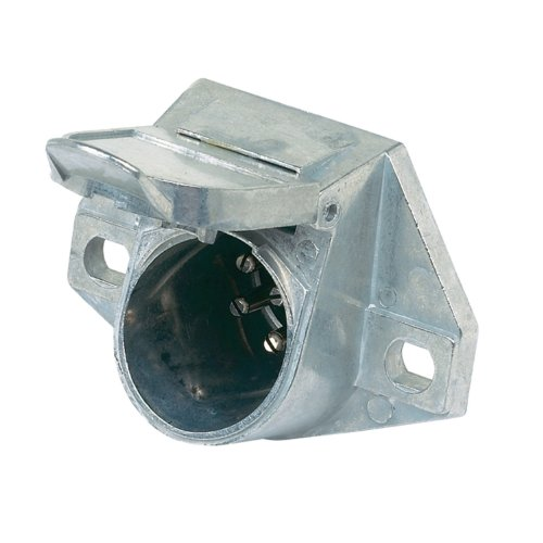 Hopkins 52016 7 Way Pin Type Vehicle End Connector