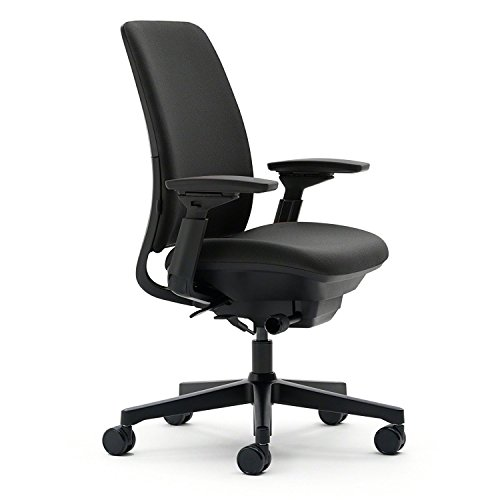 Steelcase Amia  Fabric Office Chair, Black