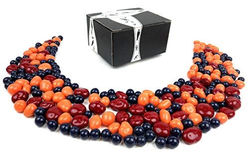 Fruit Basket Usa Chocolate - Marich Chocolate Fruit Trio, 2 lb Bag in a BlackTie Box