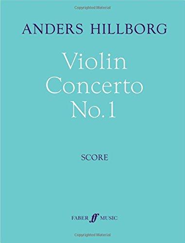 Violin Concerto No. 1: Full Score (Faber Edition) by FABER & FABER