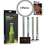 beer accessories and gifts - VINMONN Beer Chiller Sticks Beer Chillers for Bottles  Beer Chilling Sticks 4 Pieces Set Craft Beer Gifts :: Perfect Beer Accessories and Gifts