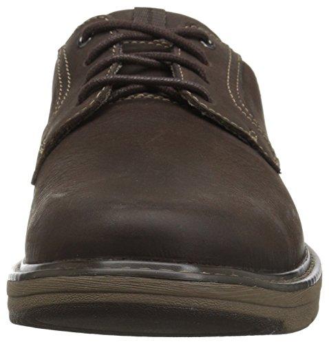 Cushox Pace Men's Brown Nubuck Oxford Dark CLARKS Ow65xqZZ