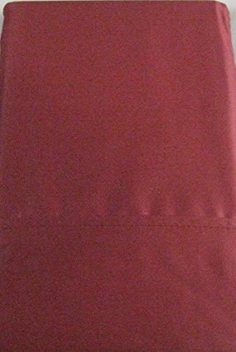 Set of 2 Ralph Lauren Dunham Sateen Standard Pillowcases- Red Slate-300 Thread Count 100% Cotton- (Ralph Lauren Cases Pillow)
