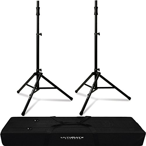- 2x TS-100B Air Powered Speaker Stand & BAG-90D Padded Dual Tripod Tote Bag