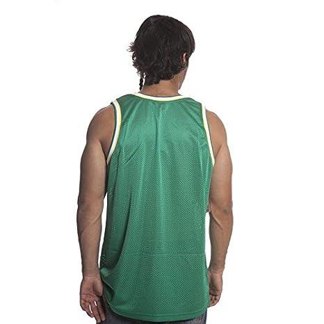 Mitchell & Ness Camiseta de tirantes NBA Seattle Supersonics GN XL: Amazon.es: Ropa y accesorios