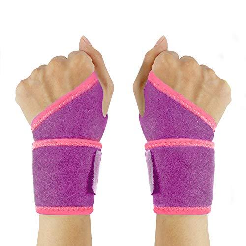 ZingineW Wrist Brace,Wrist Support, Adjustable Breathable Wrist Straps, Wrist Protection for Men,Women Sports, Fitness, (2 Packs)
