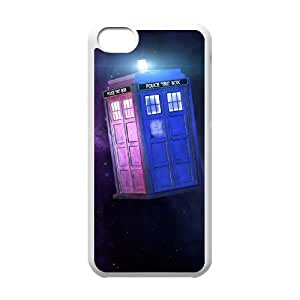 Doctor Who 002 iPhone 5c Cell Phone Case White TPU Phone Case RV_591010