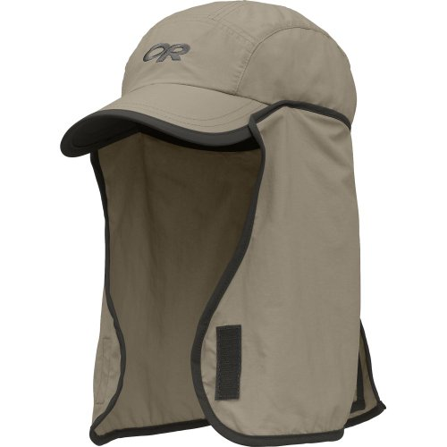 - Outdoor Research Kid's Sun Runner Cap Bug Protection, 808-Khaki/Dark Grey, X-Small