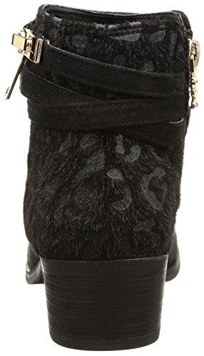 XTI 29940 - zapato botín de material sintético mujer Multicolor (Negro)