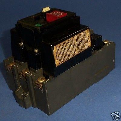 Allen Bradley 609-A0W Manual Starting Switch, 460-575 V 5 HP 3 Phase T27595