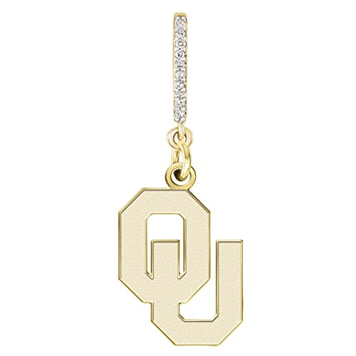 Oklahoma Sooners Yellow Gold and Diamond Necklace | College (Oklahoma Sooners Diamond)