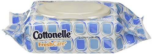 Cottonelle Fresh Care Flushable Cleansing Cloth, 504 Count (Clothes Sell Designer)