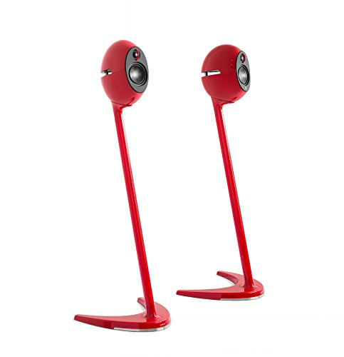 Edifier USA SS01C-Red Luna Eclipse Speaker Stands
