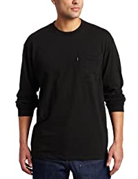 Key Apparel Men's Big-Tall Heavyweight Long Sleeve Pocket T-Shirt