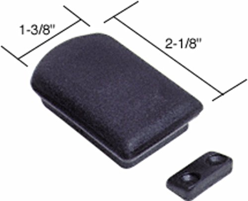 CRL Replacement Plastic Self-Latching Latch for CRL Tri-Vent Sliders by CR Laurence