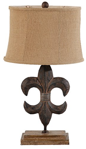 A&B Home Clover Rustic Table Lamp, 15.2 X 11.2 X 27-Inch