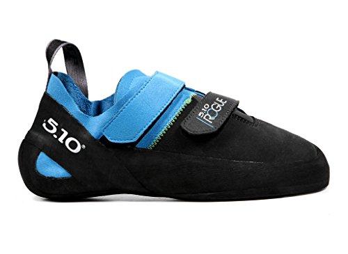 Five Ten Rogue VCS Men's Climbing Shoes (Neon Blue/Charcoal, 2) by Five Ten