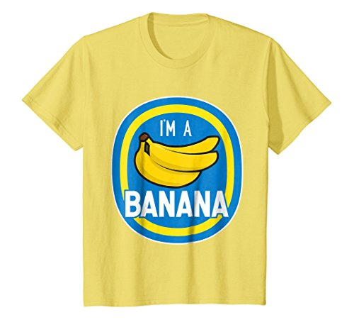 Kids I'm A Banana Costume Funny Food Halloween Shirt Adults Kids 4 (Cute Banana Costumes)