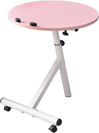 Aa Table Basse Amovible à Roulettes Table De Salon Ronde