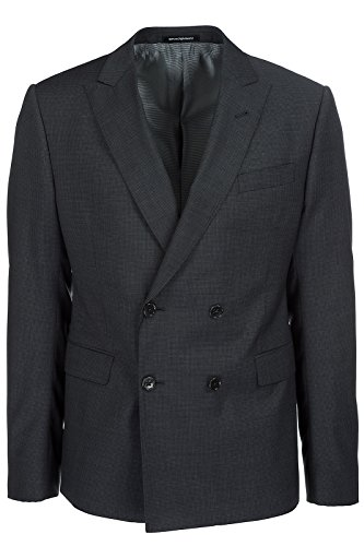 Emporio Armani abito completo uomo originale grigio