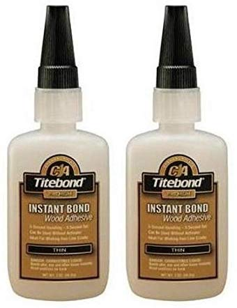 Titebond Instant Bond Wood Adhesive, Thin Viscosity (Тwо Расk)