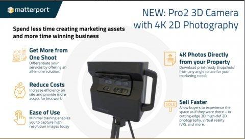 Matterport Pro2 3d Camera Rental