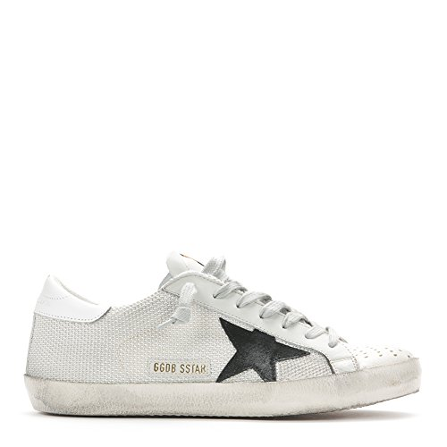 Golden Goose Deluxe Brand Hombres Superstar Sneakers Gcoms590.p9 Grey Cord Gum Eu 43