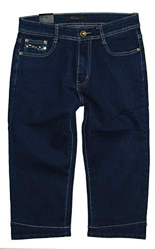 Jeans Scuro Vidy'l Donna Blu Capri 4dqaw1Sn