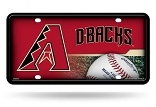 fan products of MLB Arizona Diamondbacks Metal Auto Tag