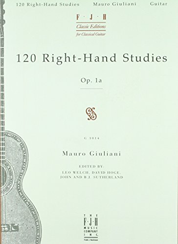 120 Right hand Studies for Guitar