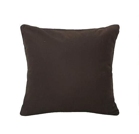 Sofá almohada cojín de algodón hermosa piping sofá cojín ...