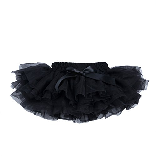 belababy Toddler Girls Halloween Costume Black Tutu Skirt