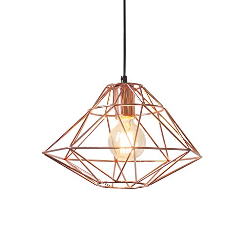 Light Society LS-C137 Wellington Pendant Lamp, Copper