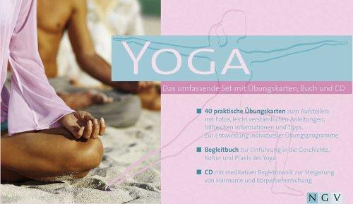 Yoga: Das umfassende Set mit Übungskarten, Buch und CD