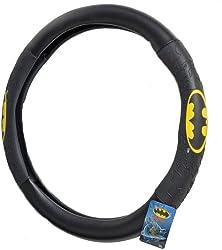 BDK WBSW-1301 Black Batman Steering Wheel Cover