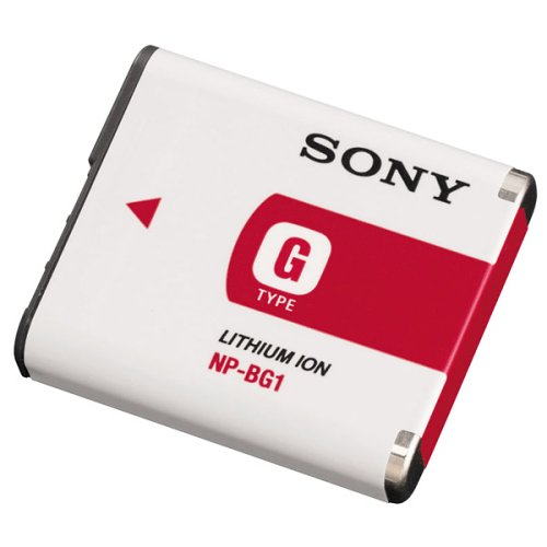 Sony NP-BG1 Type G Lithium Ion Rechargeable Battery Pack for Sony W Series, Digital Cameras Bg1 Lithium Ion Rechargeable Battery