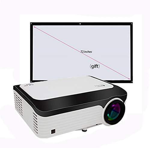 Full HD 1080P proyector de la función Wi-Fi de Doble Banda Bluetooth 4.0 Memoria incorporada 2G 16G disipación de Calor de Almacenamiento de Silencio con un paño Libre de la proyección: Amazon.es: