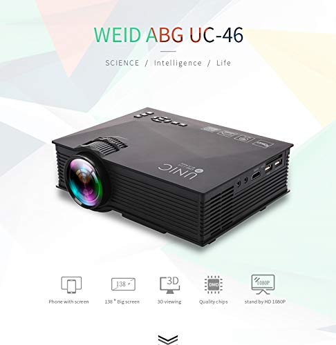 Proyector, Proyector De Video Full HD 3000 Lúmenes Compatible con ...