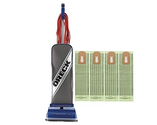 oreck-commercial-xl2100rhs-8-pound-vacuum-with-4-bags-bundle-blue