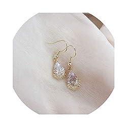 Luxurious Glittering Lace Crystal Drop Earrings