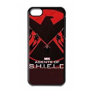 S.H.I.E.L.D iPhone 5c Cell Phone Case Black ics lgys
