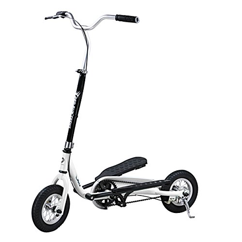 PED-RUN TEENS Pedaling Scooter, White