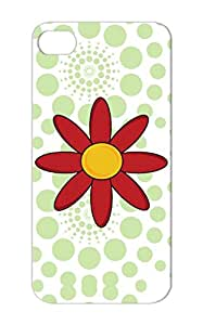 Red Flower Animals Nature Pretty Flowers Nature Natural Cute Girly Red Flower For Iphone 5 Cover Case