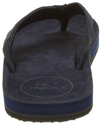 O'Neill Men's Fm Chad Flip Flops, Écaille De Tortue, 10 UK Blau (Ink Blue)