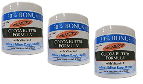 3x Palmers Palmer's Cocoa Butter Formula with Vitamin E Creme Jar 270g (810g)