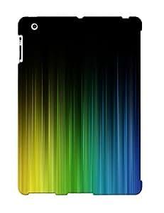 New Premium Flip Case Cover Coloredfrom Dark To Colour Skin Case For Ipad 2/3/4
