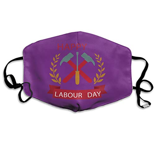 Mouth-Muffle Face Mask Unisex Labor Day Adjustable Washable Anti-dust Woman Mens